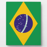 Bandera del Brasil Placas De Madera