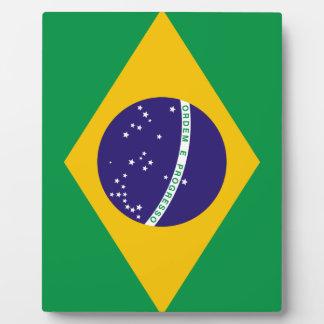 Bandera del Brasil Placas Para Mostrar