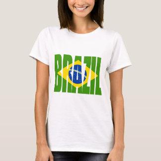 Bandera del BRASIL Playera