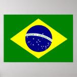 Bandera del Brasil Posters