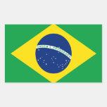 Bandera del Brasil Rectangular Altavoz