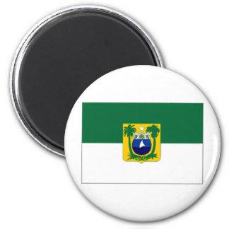 Bandera del Brasil Rio Grande do Norte Imán Redondo 5 Cm