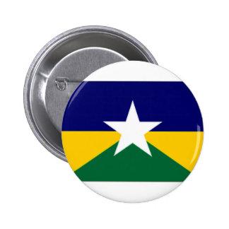 Bandera del Brasil Rondonia Pin