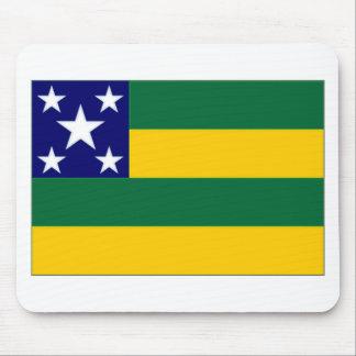 Bandera del Brasil Sergipe Alfombrilla De Raton