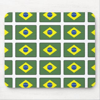 Bandera del Brasil Alfombrilla De Ratones