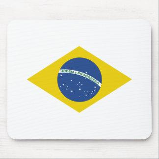 Bandera del Brasil Tapete De Ratón