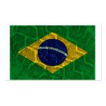 Bandera del Brasil Plantillas De Tarjetas De Visita