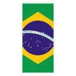 Bandera del Brasil Tarjeta Publicitaria