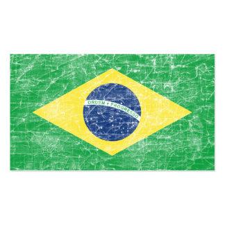 bandera del Brasil Tarjetas De Visita