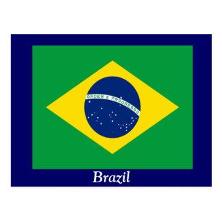 Bandera del Brasil Tarjetas Postales