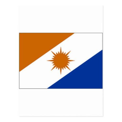 Bandera del Brasil Tocantins Postales