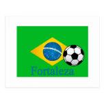 Bandera del brasilen@o de Fortaleza Postales