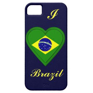 Bandera del brasilen@o del Brasil iPhone 5 Carcasa