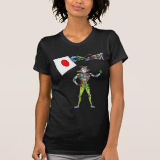 Bandera del brazo mecánico de Japón Camiseta