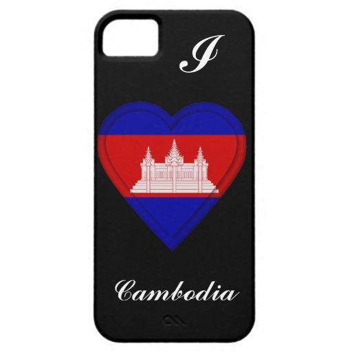 Bandera del camboyano de Camboya Funda Para iPhone SE/5/5s