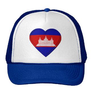 Bandera del camboyano de Camboya Gorro De Camionero