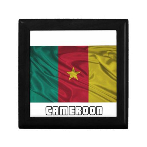 Bandera del Camerún Cajas De Joyas