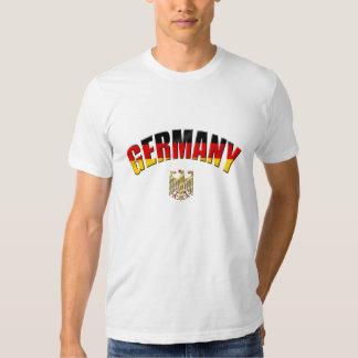 Bandera del camisetas y de los regalos alemanes playeras