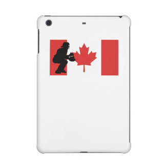 Bandera del canadiense del colector del béisbol