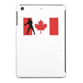 Bandera del canadiense del estratega funda de iPad mini