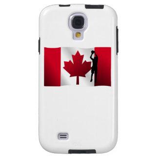 Bandera del canadiense del tiro en suspensión del