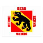 Bandera del cantón de Berna Suiza Postal