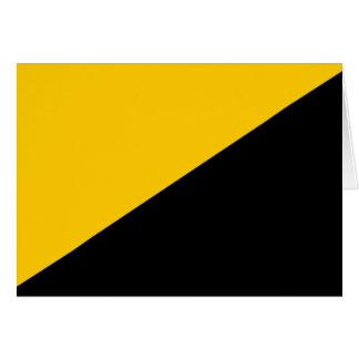 Bandera del capitalista de Anarcho Felicitacion