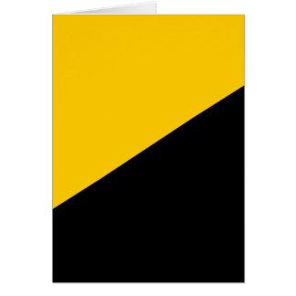 Bandera del capitalista de Anarcho Tarjeta