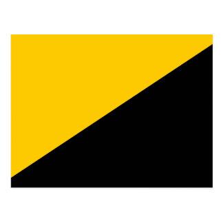 Bandera del capitalista de Anarcho Tarjetas Postales