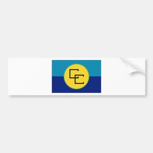Bandera del CARICOM Pegatina Para Auto