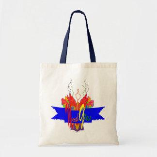 Bandera del carnaval bolsa tela barata