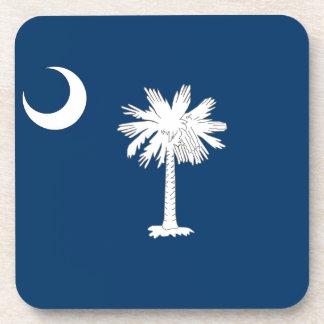 Bandera del Carolinian del sur Posavasos De Bebidas
