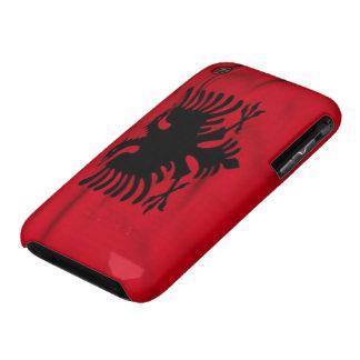 Bandera del caso del iPhone 3G/3GS de Albania iPhone 3 Funda