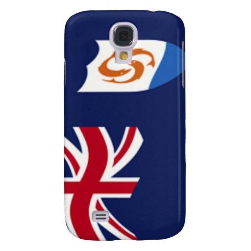 Bandera del caso del iPhone 3G/3GS de Anguila