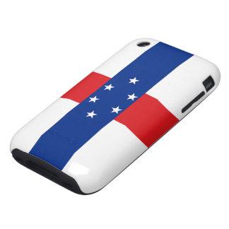 Bandera del caso del iPhone 3G/3GS de Antillas Tough iPhone 3 Funda