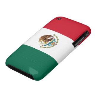 Bandera del caso del iPhone 3G/3GS de México iPhone 3 Protectores