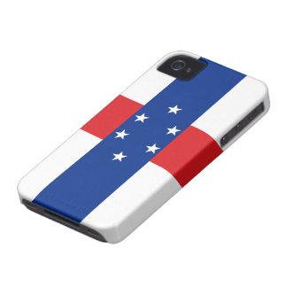 Bandera del caso del iPhone 4/4S de Antillas Case-Mate iPhone 4 Protectores