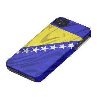 Bandera del caso del iPhone 4/4S de Bosnia y Herze
