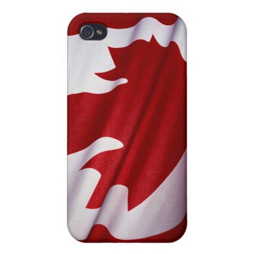 Bandera del caso del iPhone 4/4s de Canadá iPhone 4 Cárcasa