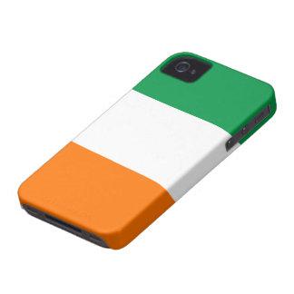 Bandera del caso del iPhone 4/4S de Irlanda iPhone 4 Case-Mate Cárcasas