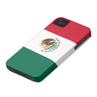 Bandera del caso del iPhone 4/4S de México Case-Mate iPhone 4 Fundas