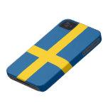 Bandera del caso del iPhone 4/4S de Suecia iPhone 4 Case-Mate Carcasa