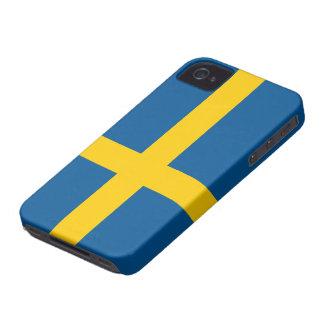 Bandera del caso del iPhone 4 4S de Suecia iPhone 4 Case-Mate Carcasa