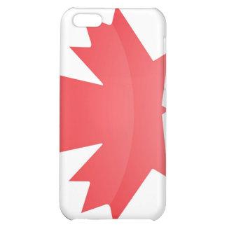 Bandera del caso del iPhone 4 de Canadá