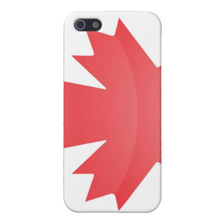 Bandera del caso del iPhone 4 de Canadá iPhone 5 Coberturas