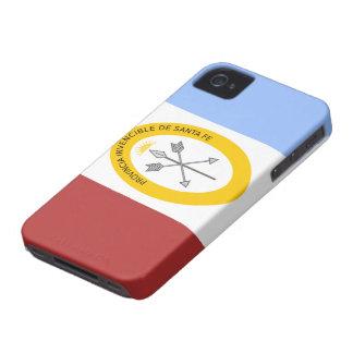 Bandera del caso del iPhone 4 de Santa Fe Case-Mate iPhone 4 Cárcasa