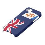 Bandera del caso del iPhone 5 de Anguila iPhone 5 Carcasa
