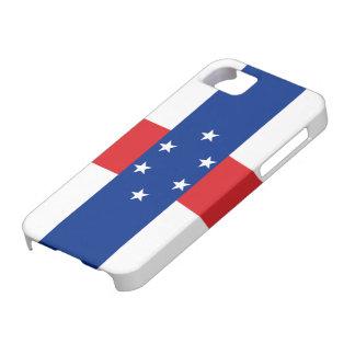 Bandera del caso del iPhone 5 de Antillas Funda Para iPhone 5 Barely There