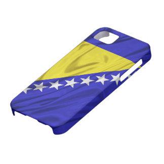 Bandera del caso del iPhone 5 de Bosnia y Herzegov iPhone 5 Case-Mate Carcasa