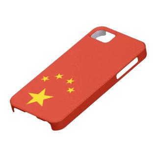Bandera del caso del iPhone 5 de China - 案例 del iPhone 5 Carcasa